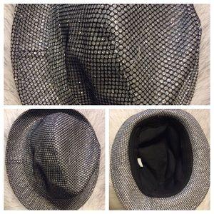 Shimmer Fedora hat